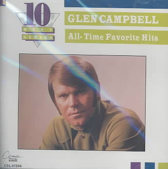 ALL TIME FAVORITES BY CAMPBELL,GLEN (CD)